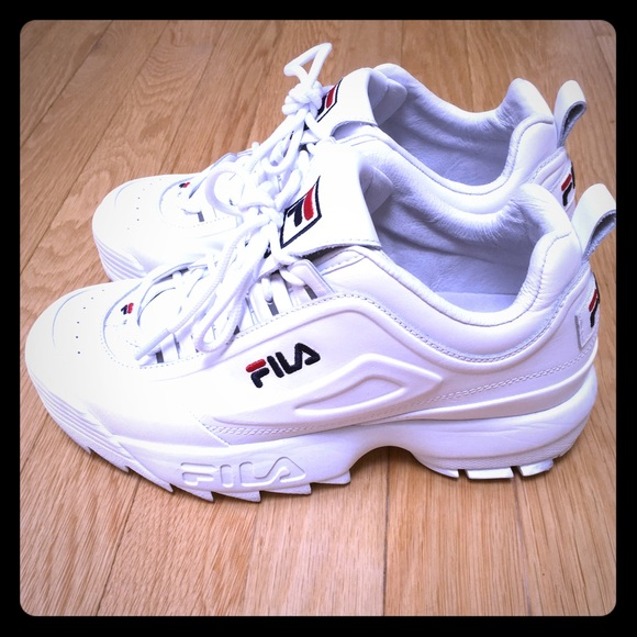ba2bf15e6d5c Fila Shoes - Fila Disruptor 2 Lux Leather Sneakers